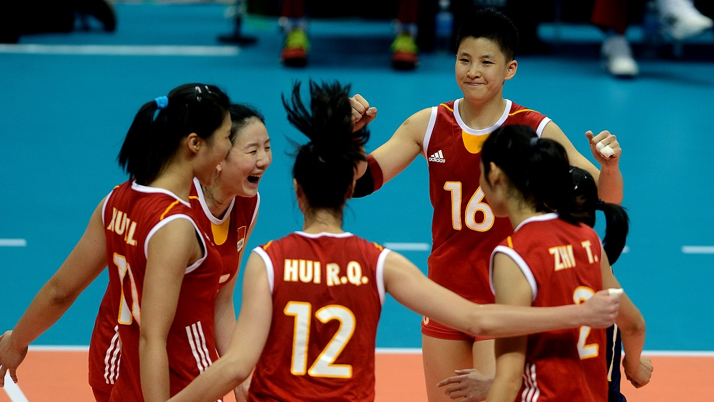 seleccion china voleibol